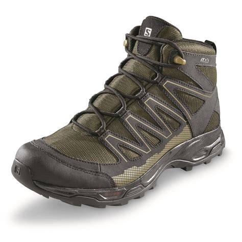 soloman boots salomon s pathfinder mid cswp hiking boots 697625