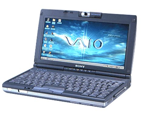 sony vaio pcg c1 notebook (picturebook) main specification