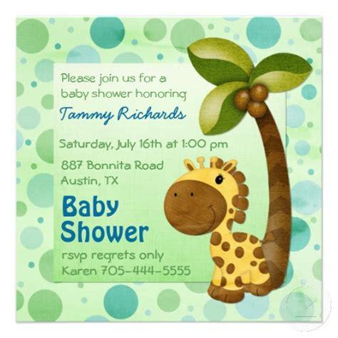 imagenes de jirafas para baby shower invitaciones para baby shower de jirafas gratis 5