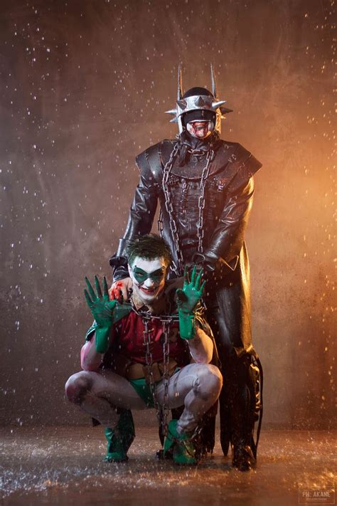 The Batman Who Laughs Cosplay (and Evil Robin),#Laughs#
