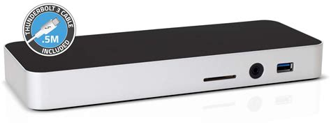 owc thunderbolt 3 dock returns macbook pro ports apple owc unveils thunderbolt 3 dock targeted at new macbook pro