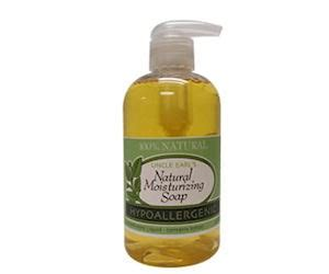 free sample handsoap from uncle earls soap blog