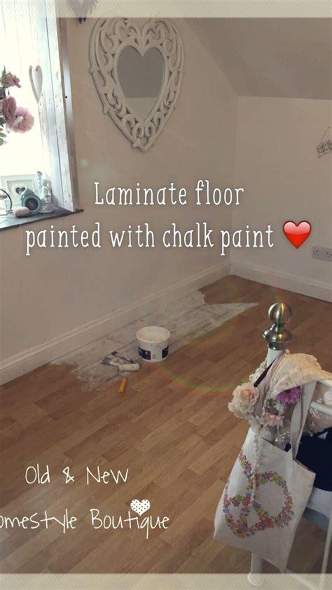 boring laminate floor   bedroom  ive painted