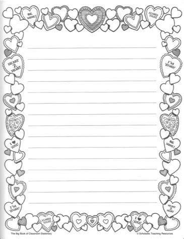Papel de carta de amor para imprimir - 39 fotos