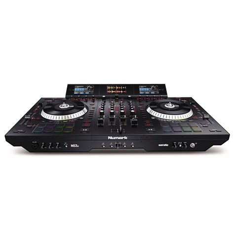 dj deck controller numark ns7iii 4 deck serato dj controller with 3 screen