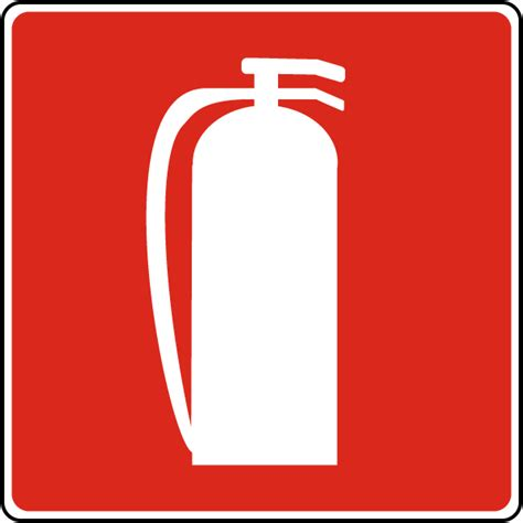 Sign Label Extinguisher extinguisher sign a5370 by safetysign