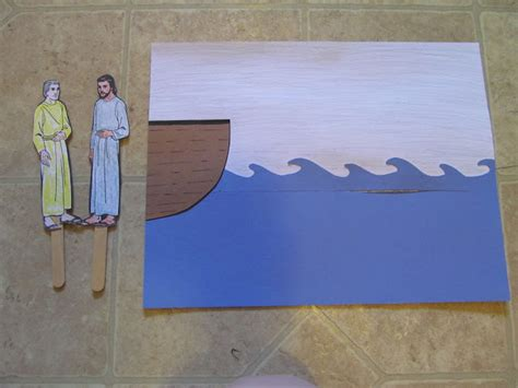 jesus walks on water craft for happiness homegrown treasures and homeschooling