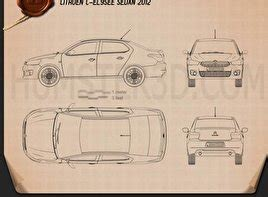 sedan blueprint  models  humd