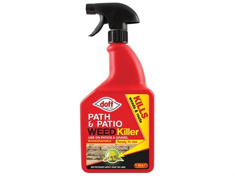 Best Killer For Patios by Doff Doffpa00 Path Patio Weedkiller Rtu 1 Litre