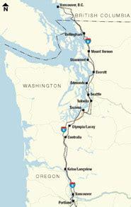 map of oregon i 5 corridor rail amtrak cascades new locomotives completed june