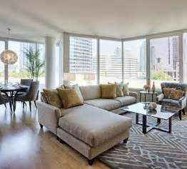 excellent modern condo living room interior design with