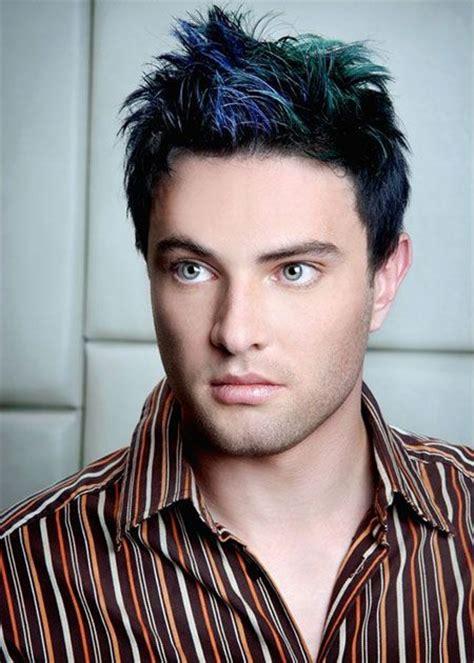 mens haircuts carson city dark blue green highlights hair color hair color ideas