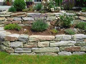 gartengestaltung trockenmauer mon jardin gartengestaltung