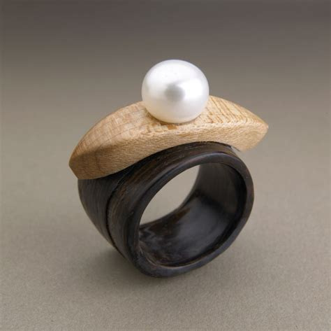 Recycled Wooden Wedding Ring From Gustav Reyes by Simply Wood Rings Eco Concious Jewelry