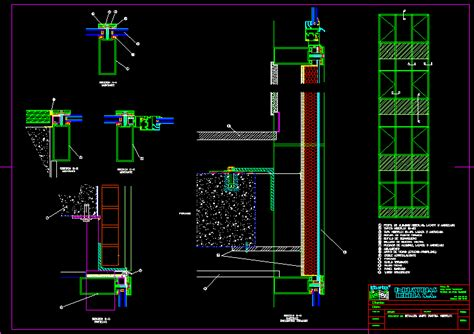 curtain wall section dwg curtain wall detail dwg detail for autocad designs cad