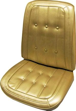 seat upholstery, us made, 1967 caprice bucket seat cover