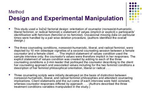 tutorial experimental design pre experimental research