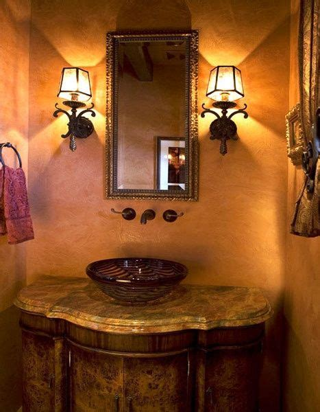 tuscan bathroom love the stone sink old world mediterranean italian spanish tuscan homes 17 best images about decorating tips on pinterest