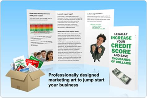 Credit Repair Brochure Templates Features Credit Repair Cloud Professional Credit Repair Software