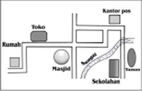 denah ruang kelas sekolah dasar lks denah dan peta lingkungan sekitar calon guru sekolah