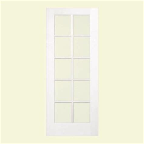 jeld wen smooth 10 lite primed pine prehung interior jeld wen 24 in x 80 in smooth 10 lite primed wood french