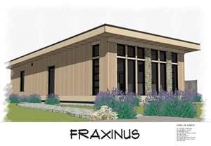 fraxinus shed roof style modern small house plan featuring craftsman plans tiny