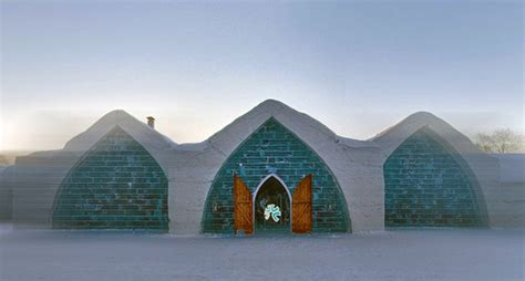 hotel de glace canada canada s coolest hotel is now rebuilt from 30k tons of