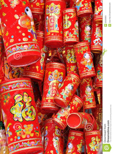 new year traditional decorations new year decoration like firecracker stock photos