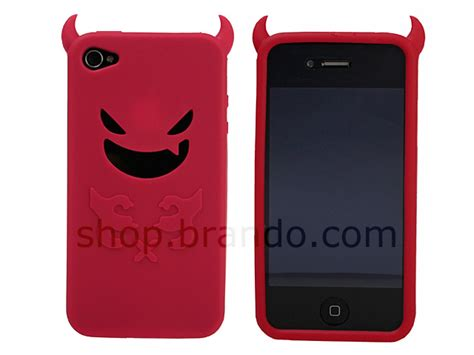 iphone  devil silicone case
