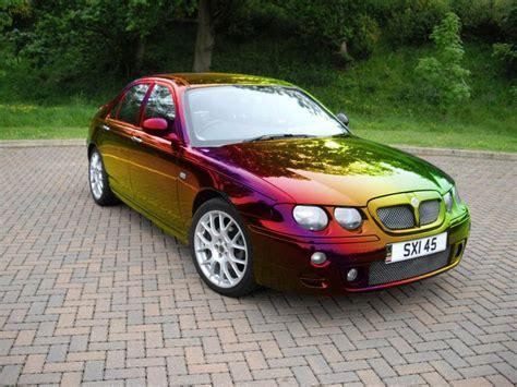 rainbow cars pistonheads quot i resprayed my black mg zt in rainbow
