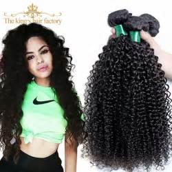 Hair 4 bundles cheap 7a wet and wavy afro kinky curly hair crochet