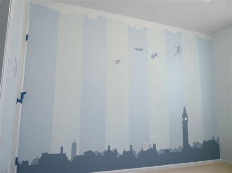 peter pan bedroom wallpaper nursery wall peter pan by breaktheday on deviantart