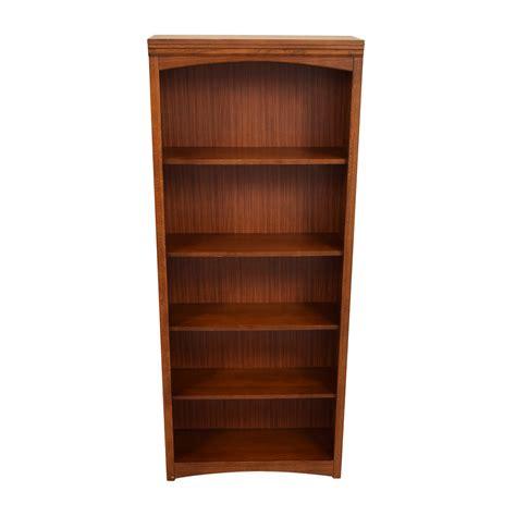 68 bassett bassett wooden bookshelf storage