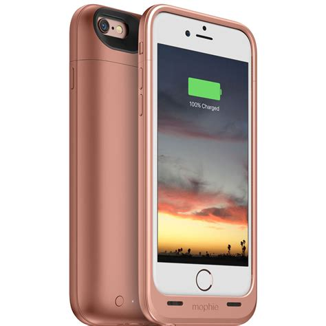 Mophie Juice Pack Plus Iphone 6 6s mophie juice pack air for iphone 6 6s gold 3382 b h