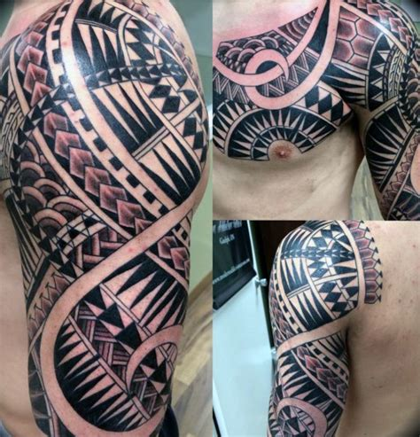 top 60 best tribal tattoos for symbols of courage
