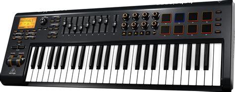 Keyboard Controller behringer motor 49 usb midi keyboard controller pssl