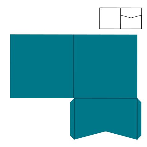 pocketfold template envelope pocket envelope template