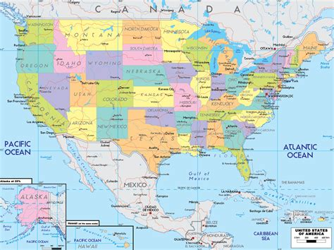 usa map with oceans map of the usa oceans wall hd 2018