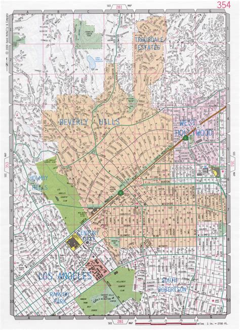 california map beverly beverly road map
