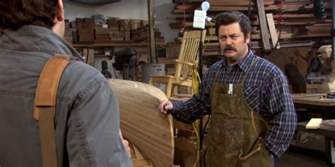 tags  wood shop ron swanson quotes