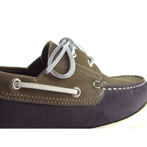 cardin leather grey leather boat shoe