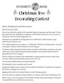 Images of christmas tree decorating contest patiofurn home design