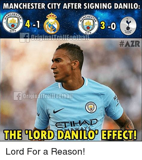 Man City Memes - manchester city after signing danilo chest aches 3 0 city