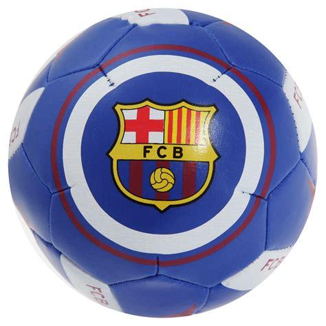barcelona official fc barcelona official football crest mini soft ball