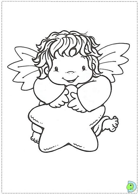 christmas angels coloring page christmas angel coloring page az coloring pages