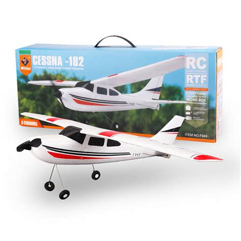 Rc Plane Cessna182 Wltoys F949 wltoys f949 cessna 182 3ch fixed wing drone plane rc toys airplane aircraft quadcopter outdoor