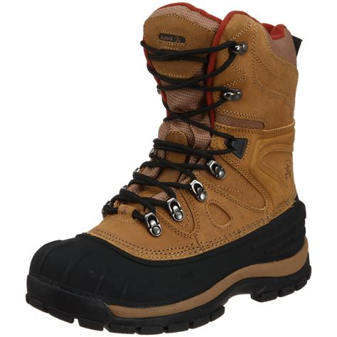 best cold weather boots for kamik mens patriot 3 cold weather boot in brown for
