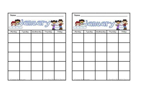 printable behavior stickers january incentive sticker charts free pinterest