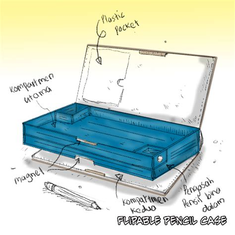 Tempat Pensil Pencil Magnit Felicia lanun ranggi top 3 kotak pensil paling lejen zaman