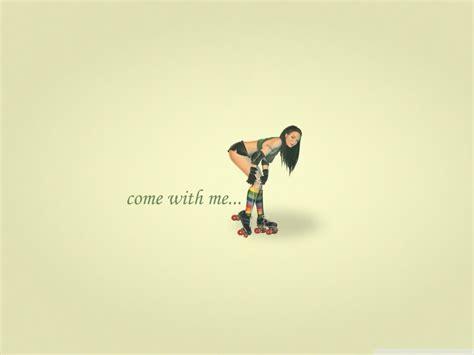 roller girl  hd desktop wallpaper   ultra hd tv